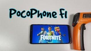Pocophone F1 Fortnite vs PUBG Gameplay Gaming test 30-60 FPS