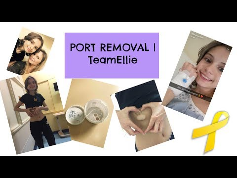 Port removal surgery | TeamEllie