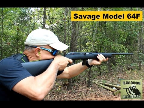 Savage Model 64F 22 Semi-Auto Rifle Review