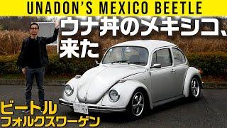 【ウナ丼のメキシコ、来たってよ!】愛車ビートルを紹介
