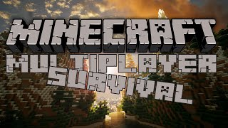 DANSK | Minecraft Survival Multiplayer | Huset skal til at bygges!
