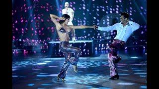 Flor Marcasoli se lució en el Disco junto a Lucas Velazco