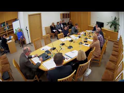 2019-09-18 Biudžeto ir finansų komiteto posėdis
