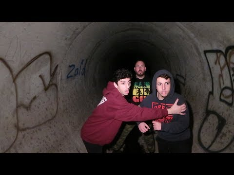 WE GOT ATTACKED AT THE END OF THE HAUNTED TUNNEL... *POLICE