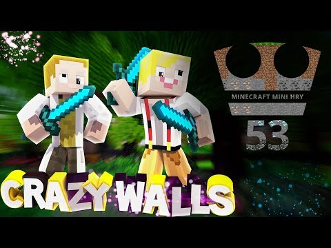 Crazy Walls - Dokážeme vyhrát?! - Minecraft Mini hry 53 /w GEJMR