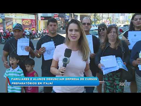 Familiares e alunos denunciam empresa de cursos preparatórios em Itajaí