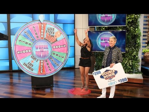 Take a Spin on Ellen's Wheel of Riches