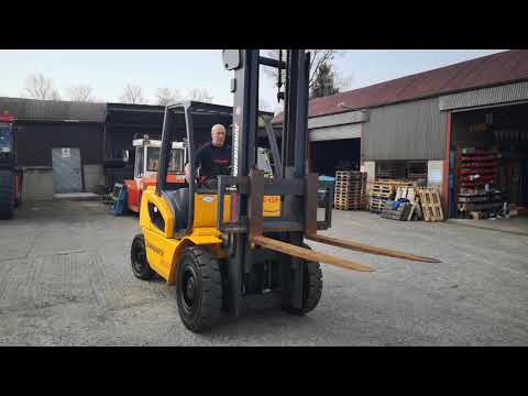Jungheinrich DFG 425 Forklift Truck
