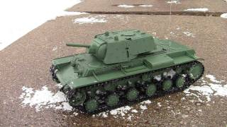 Russian KV-1 RC Heavy Tank.mp4