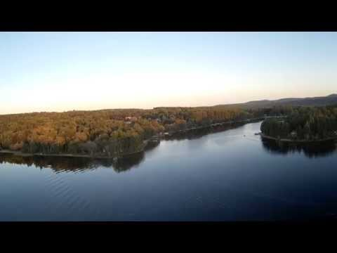 Aerial Video Silver Lake Belmont, New Hampshire from my Phantom 2