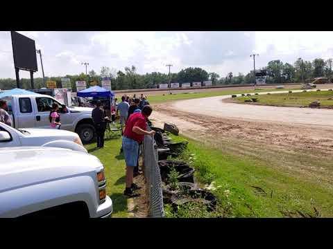 Ransomville speedway 8/20/17 Luca feature #1