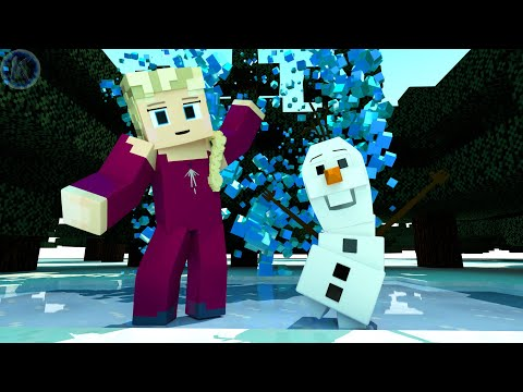Frozen 2 - Olaf Minecraft Animation
