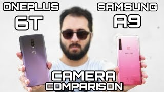 A massive camera comparison between Samsung Galaxy A9 2018 and Onep...