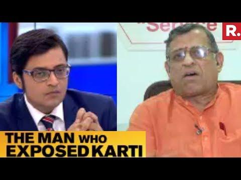 Arnab Goswami Speaks To S Gurumurthy | Man Who Exposed Karti Chidambaram