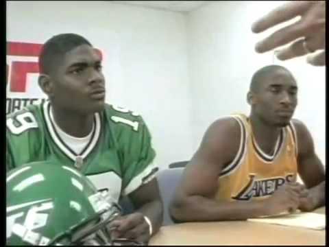 Kobe Bryant Keyshawn Johnson Rookie Guarantee ESPN Sportscenter Commercial