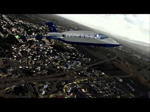 [FSX HD] Piaggio P180 Avanti taking off from Verona