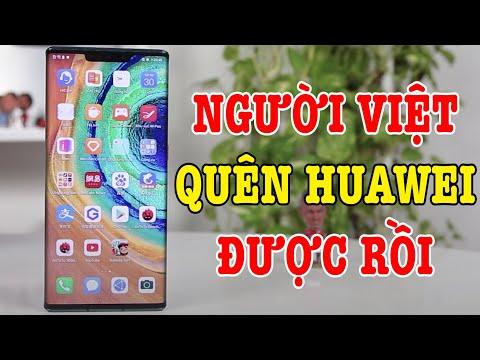 Người dùng Việt tạm biệt điện thoại Huawei được rồi !