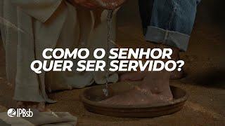 2021-02-14 - Como o Senhor quer ser servido? – Rev. Reginaldo Carvalho- Transmissão Vespertina