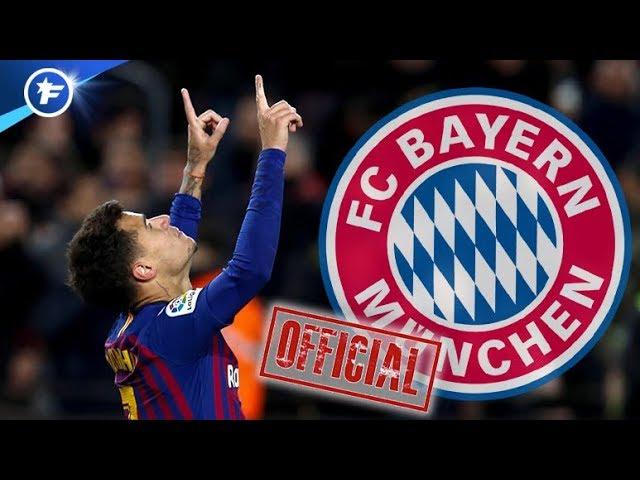 OFFICIEL : accord entre le Bayern et le Barça pour Philippe Coutinho   Revue de presse