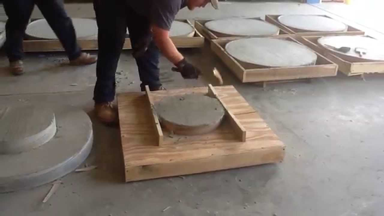 Concrete manhole lids youtube
