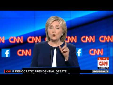 Candidates on US Patriot Act, NSA, and Snowden at First Democratic Presidential Debate
