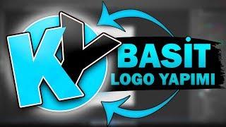 10 DK'DA MÜKEMMEL LOGO - Photoshop cs6 Basit Logo Yapımı