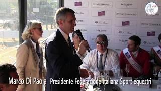 Conferenza Stampa post gara–Marco Di Paola e Uliano Vezzani  Coppa Nazioni 85°CSIO Roma 26/05/2017
