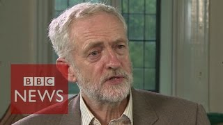 Jeremy Corbyn on Europe, leadership and The Queen - BBC News