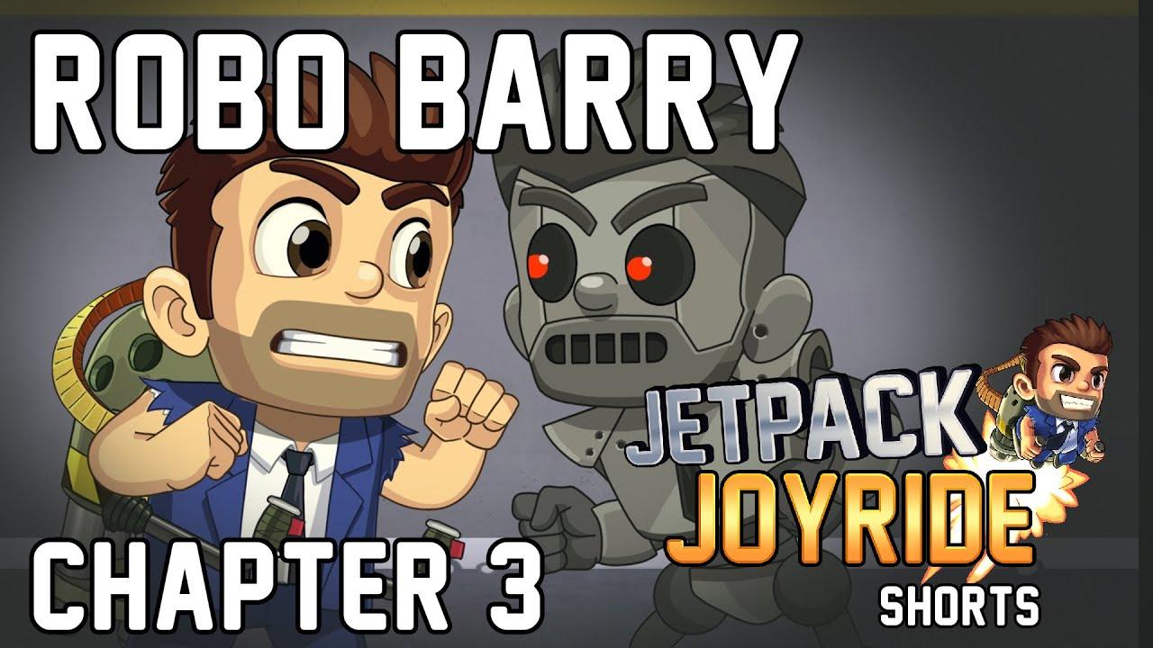 Download 🤖 ROBO BARRY 🤖 - Jetpack Joyride Shorts - Chapter 3🚀💥 #JetpackJoyride #Halfbrick #JJSHORTS