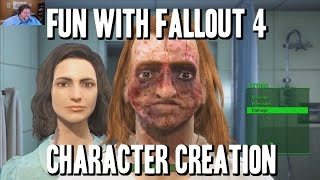 Fallout 4 (Spoiler free) Character Creation!