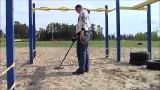 Metal Detecting School Playgrounds - May 28, 2013 - Garrett Ace 250