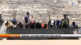 Somalie : Le stade Konis de Mogadiscio réhabilité