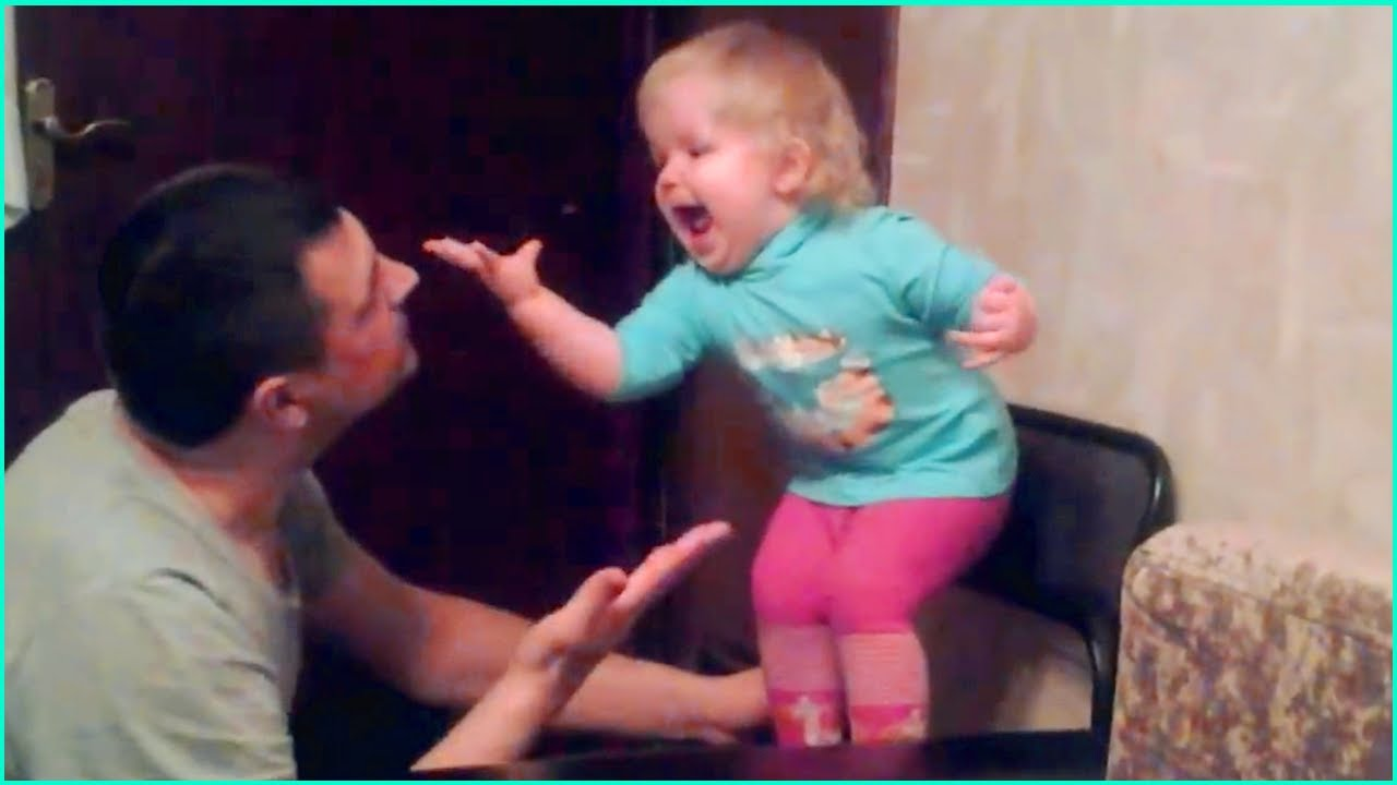 Baby Arguing With Her Dad Is The Cutest Thing You'll See All Day💝 Funny Father and Baby Compilation