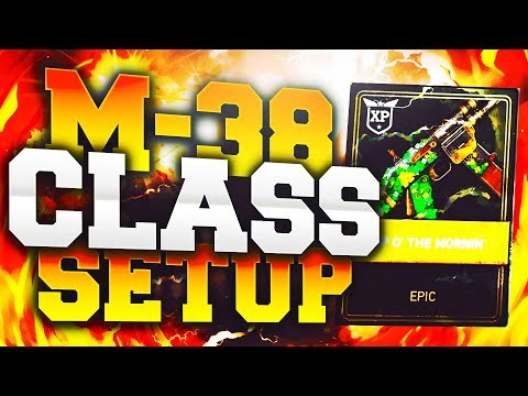 MG-38 CLASS SETUP *NEW GUN* - Call of Duty: World War 2