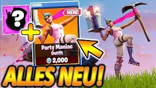 MANY FREE GIFTS TO FORTNITE GEBURTSTAG!! 🎁🔥 | NEW P90 | Fortnite Battle Royale