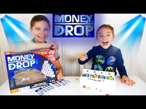 JEU - MONEY DROP - On joue comme à la TV - Jeu de société