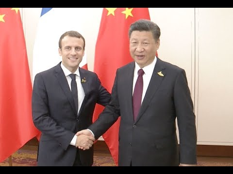 Xi, Macron Agree to Promote China France Cooperation