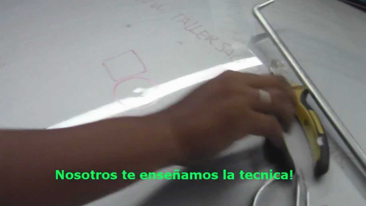 Cómo reparar bollos de granizo con un Marcador y una Pinza - YouTube
