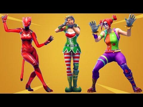 Fortnite All Dances Season 1-7 Updated to Take The Elf