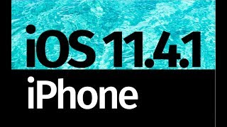 How to Update to iOS 11.4.1 - iPhone X iPhone 8 iPhone 7 iPhone 6 iPhone 5S