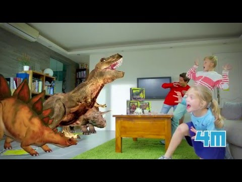 AR Wonder, Dinosaur DNA