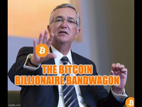 The Bitcoin Billionaire Bandwagon