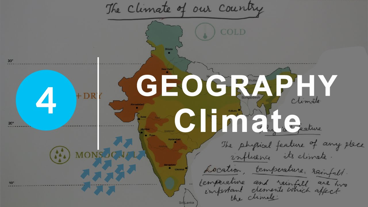 Climate - Chapter 4 Geography NCERT class 9 - YouTube