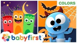 My Color Friends | Coloring Halloween 2019 | Educational Videos w Color Crew & GooGoo | BabyFirst TV