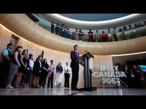 Prime Minister Trudeau delivers remarks at the University of Saskatchewan