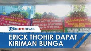 Menteri BUMN Erick Thohir Dapat Kiriman Bunga setelah Copot Dirut Garuda Indonesia Ari Askhara
