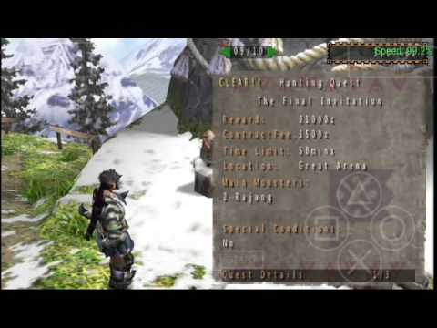 MHFU - Como Colocar Cheats - PPSSPP Android