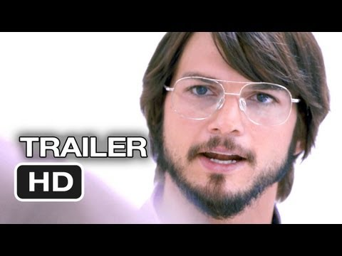'Inspired by true events': Official trailer for Ashton Kutcher's 'Jobs' film goes live
