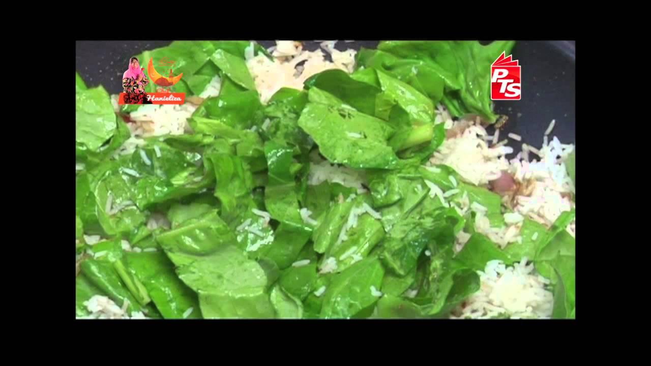 Nasi Goreng Kailan Ikan Masin - YouTube