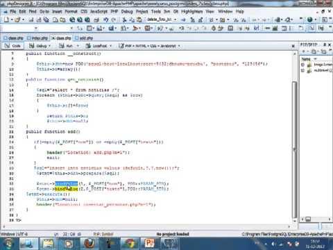 VideoTutorial 7 del Curso de PHP y PostGreSQL